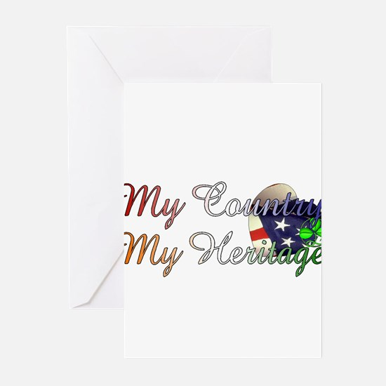 my country Greeting Cards (Pk of 10)