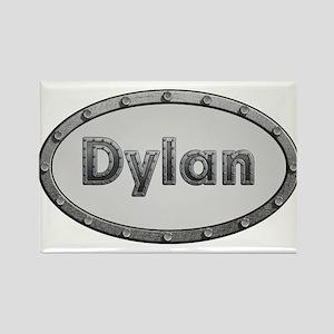 Dylan Metal Oval Magnets