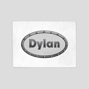 Dylan Metal Oval 5'x7'Area Rug