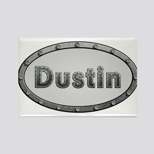 Dustin Metal Oval Magnets