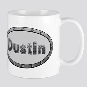 Dustin Metal Oval Mugs