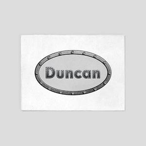Duncan Metal Oval 5'x7'Area Rug