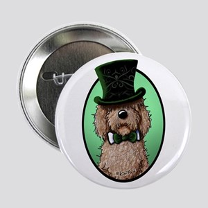 """St. Paddy's Doodle 2.25"""" Button"""