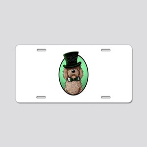St. Paddy's Doodle Aluminum License Plate