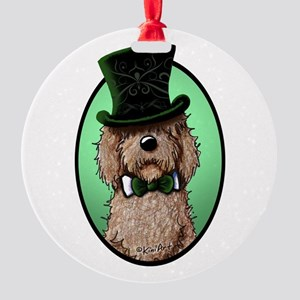 St. Paddy's Doodle Round Ornament