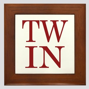 TWIN Framed Tile