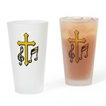 Minister of Music Drinking Glass