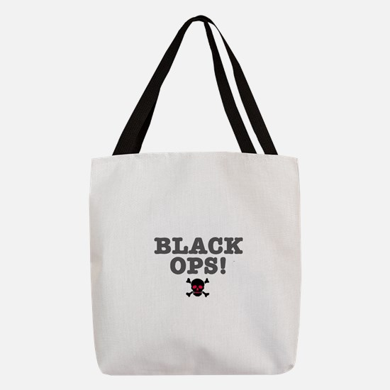 BLACK OPS Polyester Tote Bag