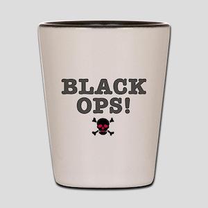 BLACK OPS Shot Glass
