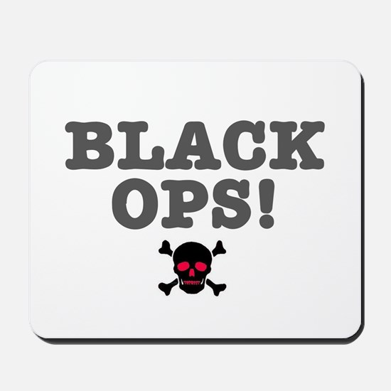 BLACK OPS Mousepad