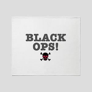 BLACK OPS Throw Blanket