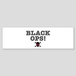 BLACK OPS Bumper Sticker