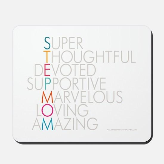 Super Stepmom Mousepad