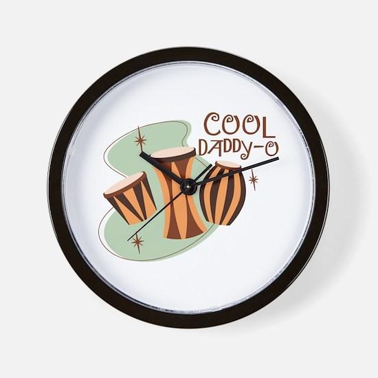 Cool Daddy O Wall Clock