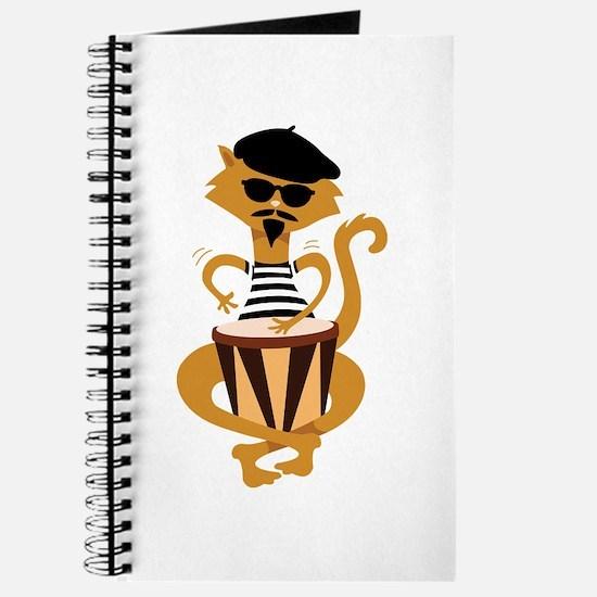 Retro Bongo Cat Journal