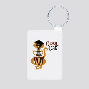 Cool Cat Keychains