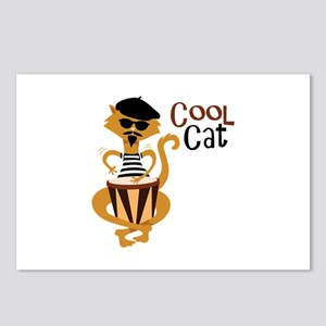 Cool Cat Postcards (Package of 8)