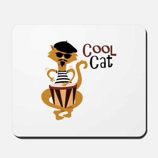 Cool Cat Mousepad