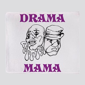 Drama Mama Throw Blanket