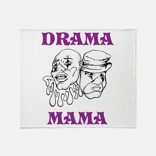 Drama Mama Throw Blanket