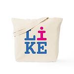i Like Tote Bag