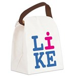 i Like Canvas Lunch Bag