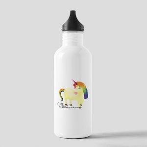 Cute Little Baby Unicorn Water Bottle