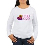 Cali Love #1 Women's Long Sleeve T-Shirt