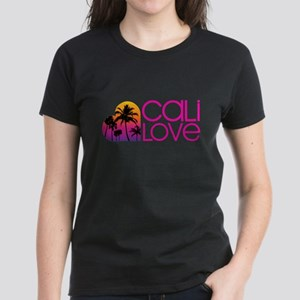 Cali Love #1 Women's Dark T-Shirt