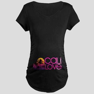 Cali Love #1 Maternity Dark T-Shirt