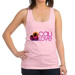 Cali Love #1 Racerback Tank Top