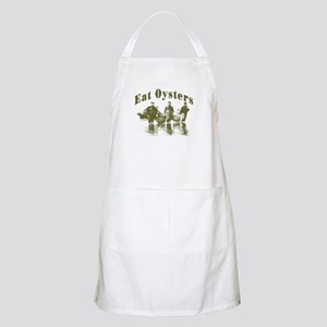 Eat Oysters BBQ Apron