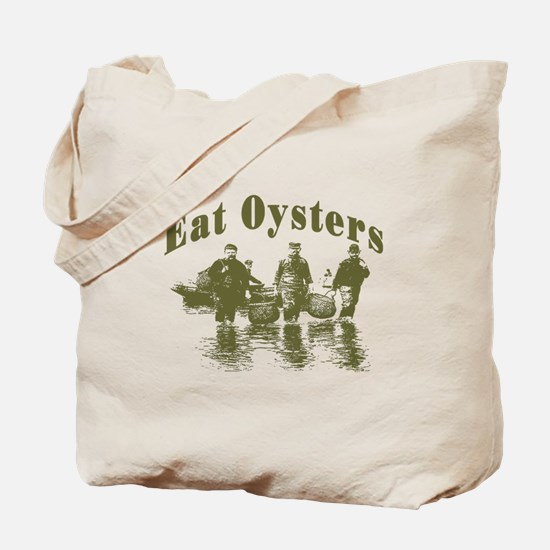 Eat Oysters Tote Bag