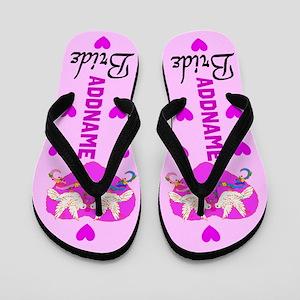 Bride Love Flip Flops
