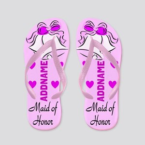 Maid Of Honor Bells Flip Flops