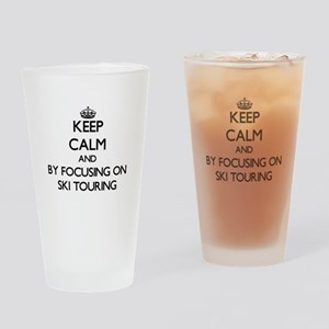 Keep calm by focusing on Ski Touring Drinking Glas