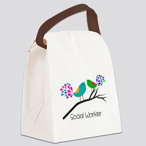Social Worker 44 Canvas Lunch Bag