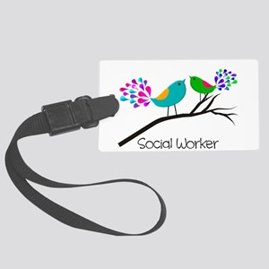 Social Worker 44 Luggage Tag