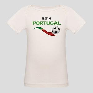 Soccer 2014 PORTUGAL Organic Baby T-Shirt