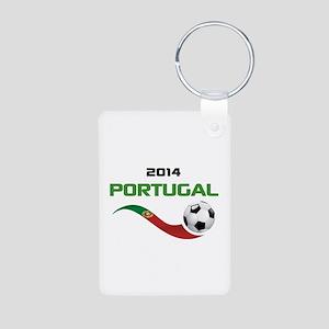 Soccer 2014 PORTUGAL Aluminum Photo Keychain