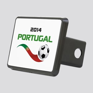 Soccer 2014 PORTUGAL Rectangular Hitch Cover