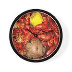 Crawfish Wall Clock