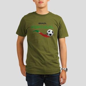 Soccer PORTUGAL Brazi Organic Men's T-Shirt (dark)