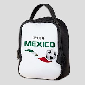 Soccer 2014 MEXICO Neoprene Lunch Bag