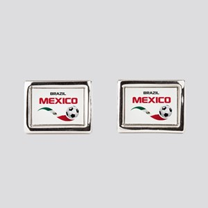 Soccer 2014 MEXICO red Cufflinks