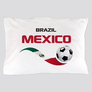 Soccer 2014 MEXICO red Pillow Case