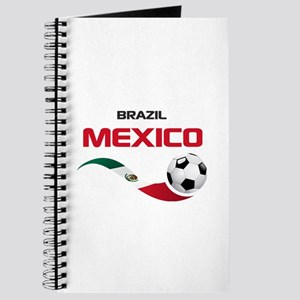 Soccer 2014 MEXICO red Journal