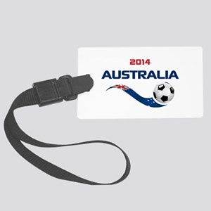 Soccer 2014 AUSTRALIA Large Luggage Tag