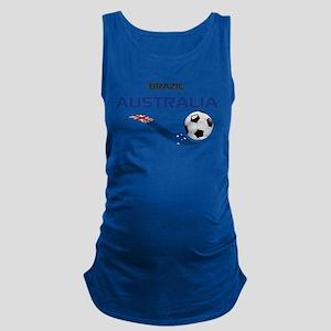 Soccer 2014 AUSTRALIA 1 Maternity Tank Top