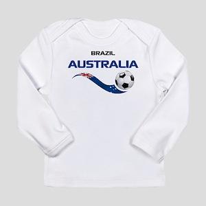 Soccer 2014 AUSTRALIA 1 Long Sleeve Infant T-Shirt